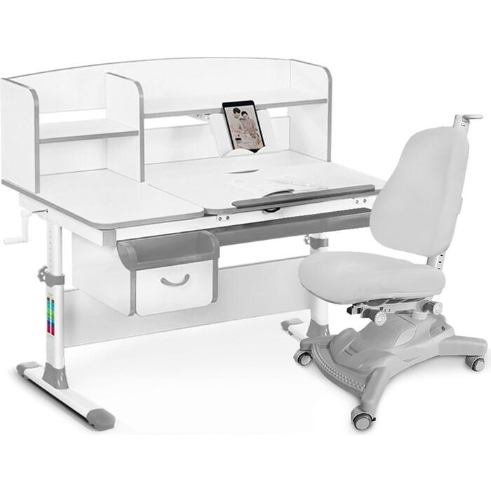 Комплект (стол+полка+кресло+чехол) Mealux Evo-50 G (Evo-50 + Y-418 G)