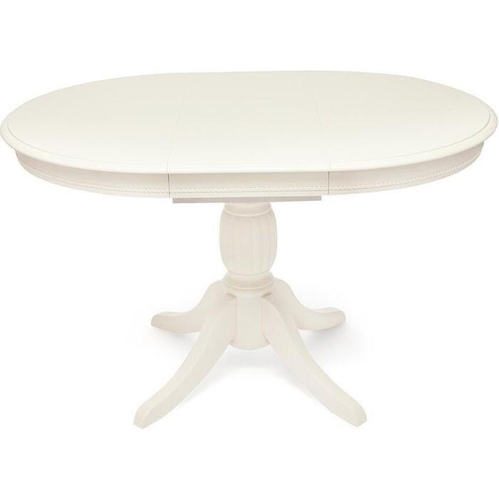 Стол обеденный TetChair Beatrice дерево гевея/мдф pure white (402)