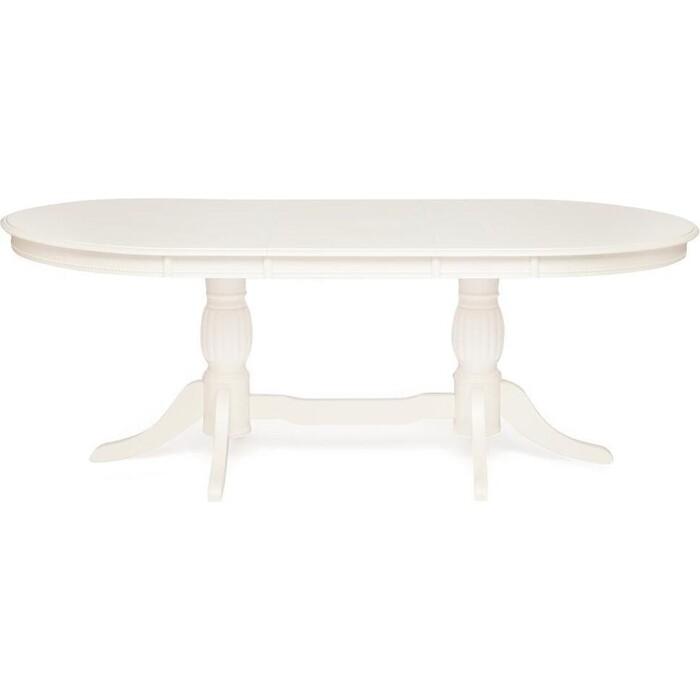 Стол обеденный TetChair Lorenzo (Лоренцо) дерево гевея/мдф pure white (402)