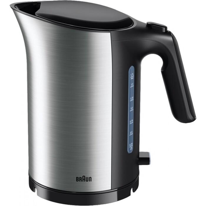 Чайник электрический Braun WK 5110BK чайник braun wk 600 2200 серебристый 1 7 л нержавеющая сталь