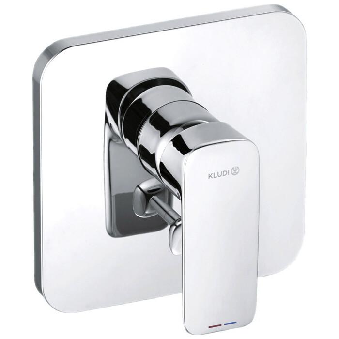 Смеситель для ванны Kludi Pure&Style встраиваемый, с механизмом (404190575, 38636)