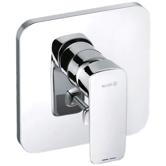 Смеситель для ванны Kludi Pure&Style встраиваемый, с механизмом (406500575, 88011)