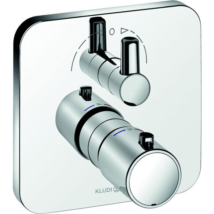 Термостат для ванны Kludi E2 встраиваемый, с механизмом (498300575, 88011)