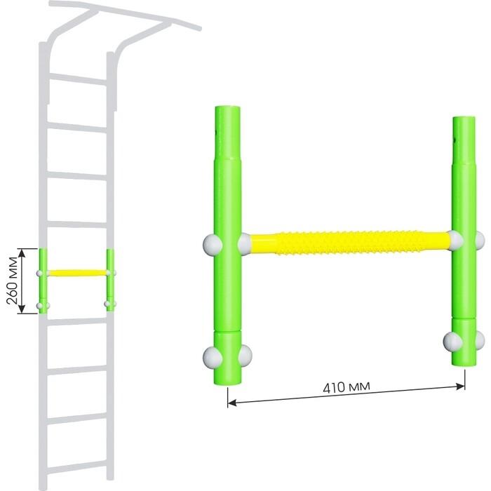 Вставка для увеличения высоты Romana ДСКМ 410 Dop8 (6.06.00) зелёное яблоко/жёлтый