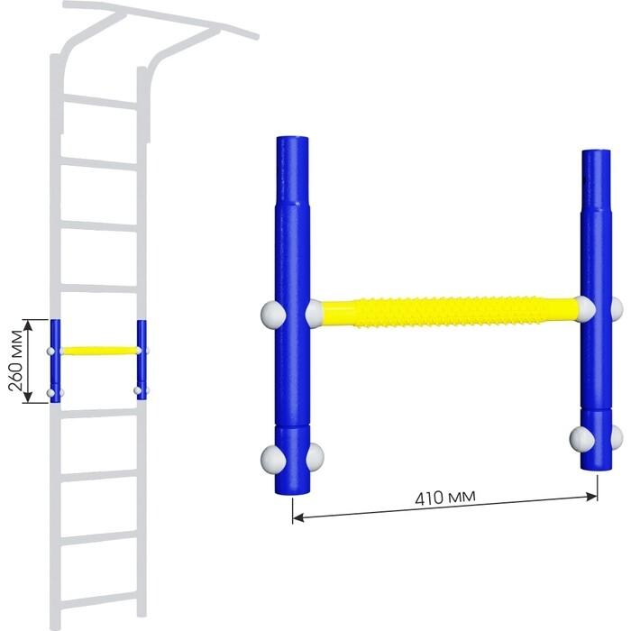 Вставка для увеличения высоты Romana ДСКМ 410 Dop8 (6.06.00) синяя слива/жёлтый вставка romana 2 520 мм дскм во 92 70 2 06 490 04 синяя слива