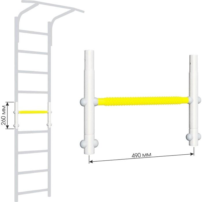 Вставка для увеличения высоты Romana ДСКМ 490 Dop9 (6.06.01) белый прованс/жёлтый вставка romana 2 520 мм дскм во 92 70 2 06 490 04 синяя слива