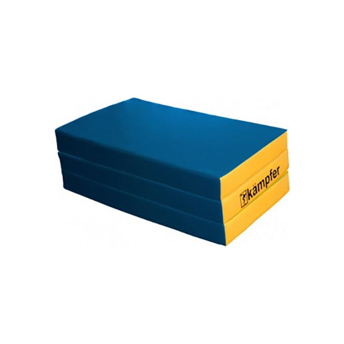 Мат Kampfer №6 (150 х 100 10) складной синий/желтый