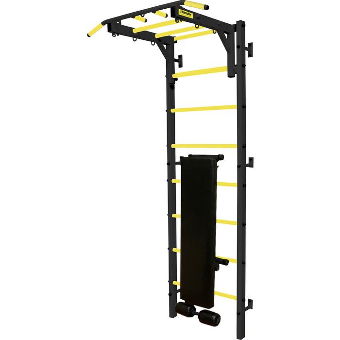 Профессиональная шведская стенка Kampfer Olimpik Professional черный/желтый