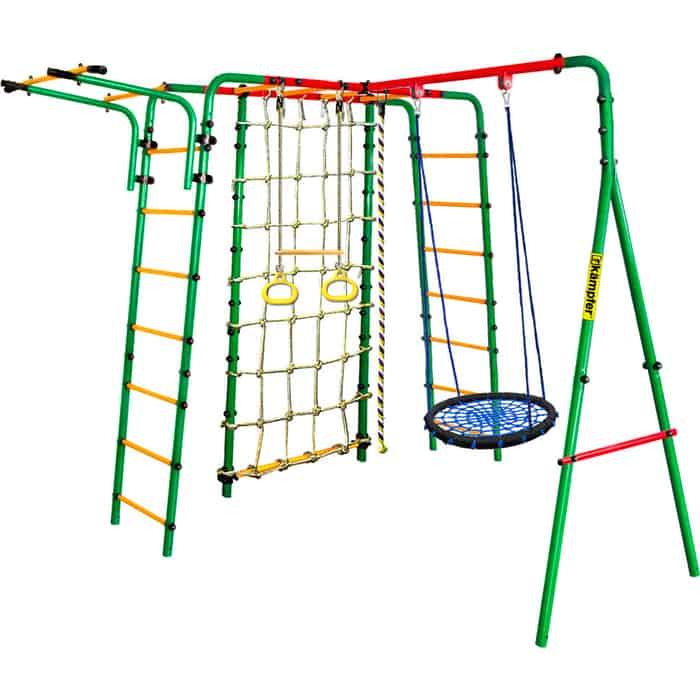 Детский спортивный комплекс Kampfer Kindisch Гнездо среднее синее