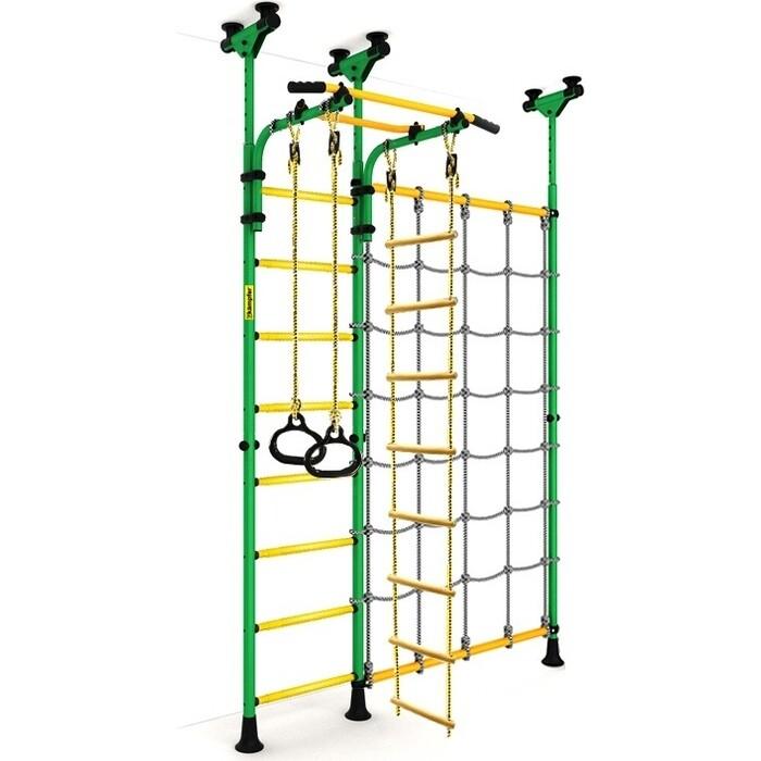 Детский спортивный комплекс Kampfer Gridline Ceiling зеленый/желтый