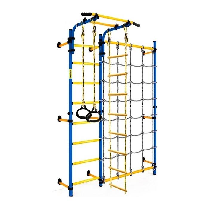 Детский спортивный комплекс Kampfer Gridline Wall синий/желтый