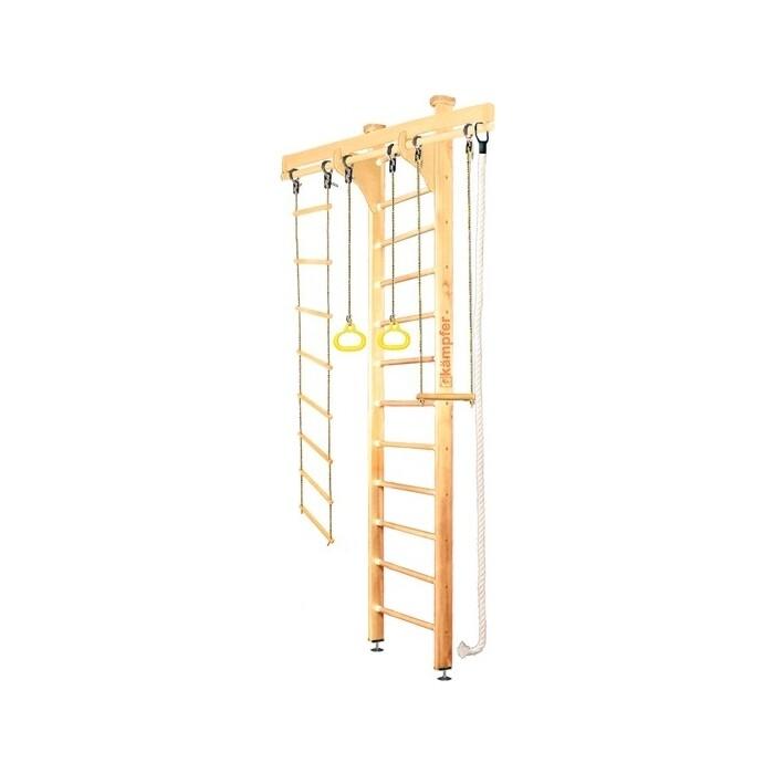 Детский спортивный комплекс Kampfer Wooden Ladder Ceiling №1 Натуральный Высота 3 м