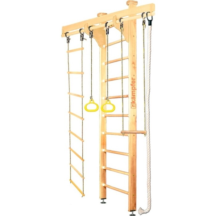 Шведская стенка Kampfer Wooden Ladder Ceiling №1 Натуральный Стандарт