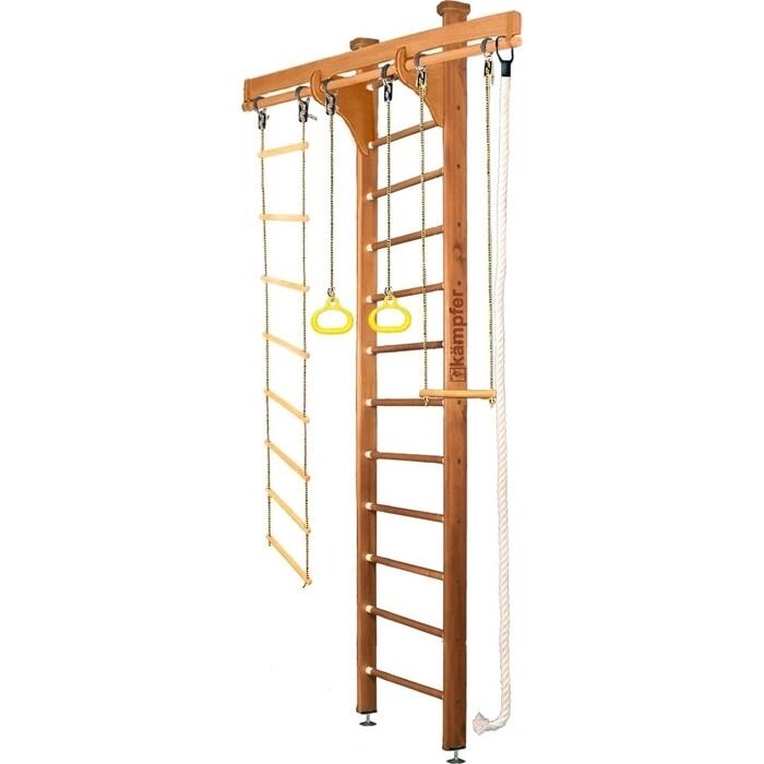 Шведская стенка Kampfer Wooden Ladder Ceiling №2 Ореховый Высота 3 м