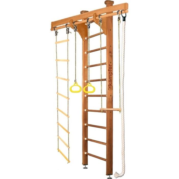 Шведская стенка Kampfer Wooden Ladder Ceiling №2 Ореховый Стандарт