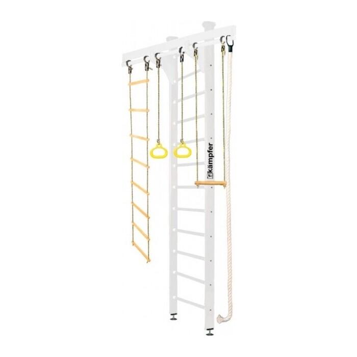 Детский спортивный комплекс Kampfer Wooden Ladder Ceiling №6 Жемчужный Высота 3 м