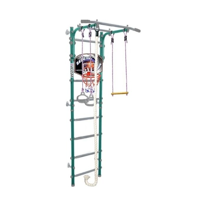 Детский спортивный комплекс Midzumi Hoshi Kabe Basketball Shield ментоловый сорбет
