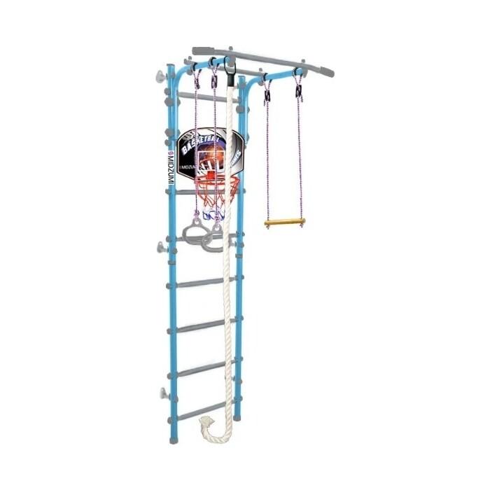 Детский спортивный комплекс Midzumi Hoshi Kabe Basketball Shield небесная лазурь