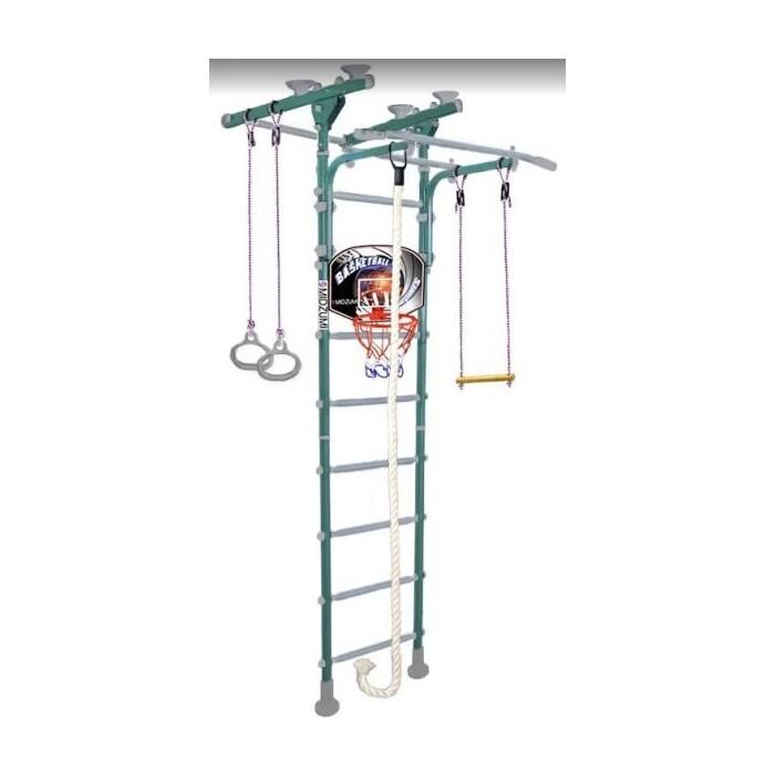 Детский спортивный комплекс Midzumi Hoshi Ton Basketball Shield ментоловый сорбет