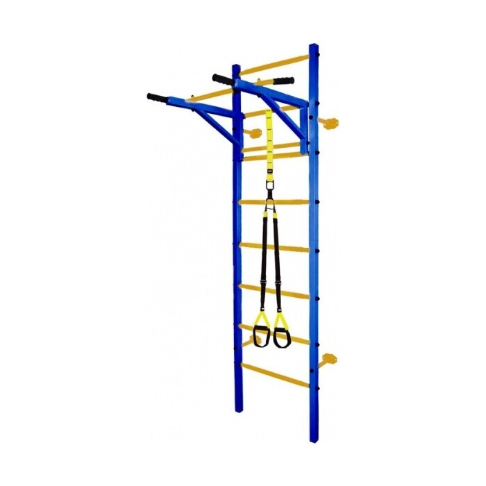 Детский спортивный комплекс Midzumi Katashi plus синий/желтый, желтый