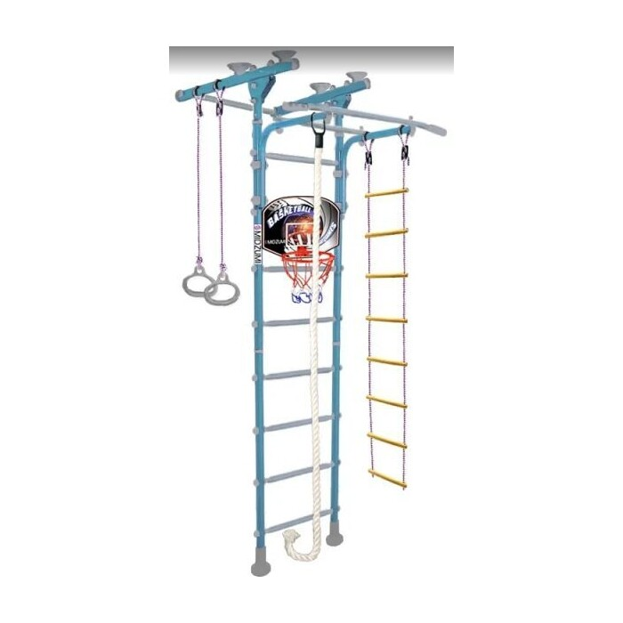 Детский спортивный комплекс Midzumi Niji Ton Basketball Shield небесная лазурь