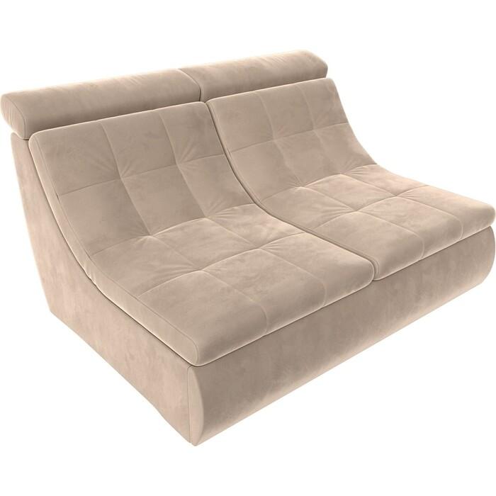 Модуль Лига Диванов Холидей Люкс раскладной диван велюр бежевый модуль лига диванов холидей раскладной диван рогожка бежевый