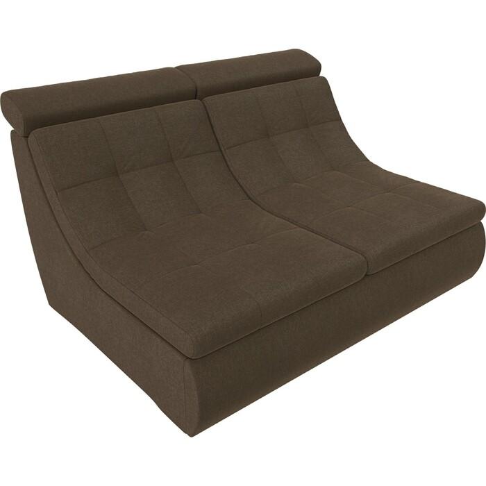 Модуль Лига Диванов Холидей Люкс раскладной диван рогожка коричневый модуль лига диванов холидей раскладной диван рогожка бежевый