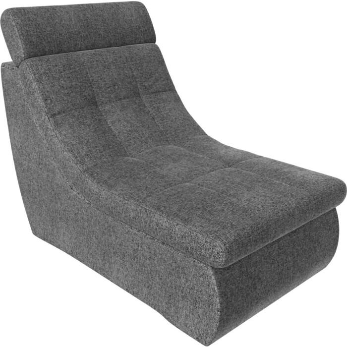 Модуль Лига Диванов Холидей Люкс кресло рогожка серый
