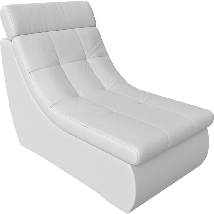 Модуль Лига Диванов Холидей Люкс кресло экокожа белый
