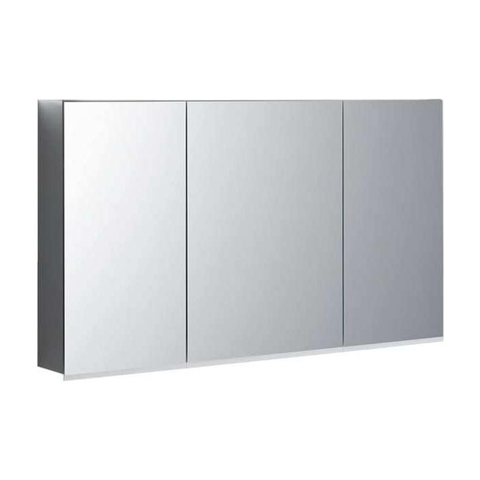 Зеркальный шкаф Geberit Option Plus 120 с подсветкой (500.592.00.1) зеркало geberit option 60 с подсветкой 500 586 00 1