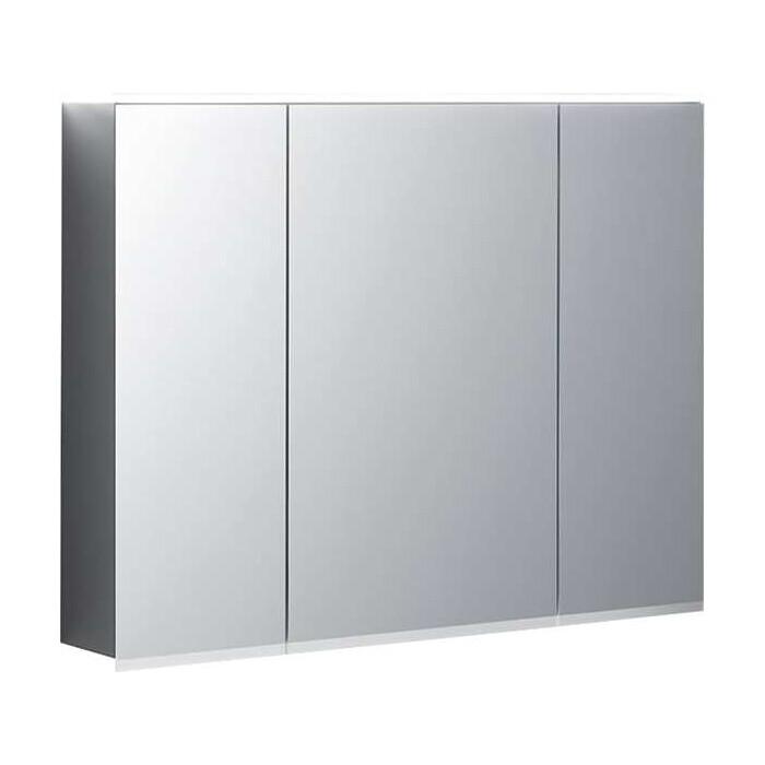 Зеркальный шкаф Geberit Option Plus 90 с подсветкой (500.594.00.1) зеркало geberit option 60 с подсветкой 500 586 00 1
