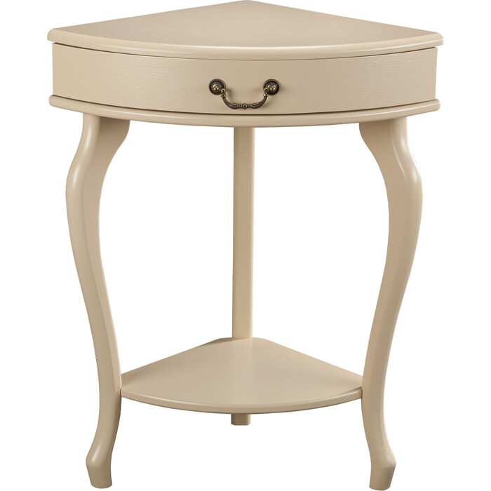 Мебелик Консоль угловая Элегант дуб шампань