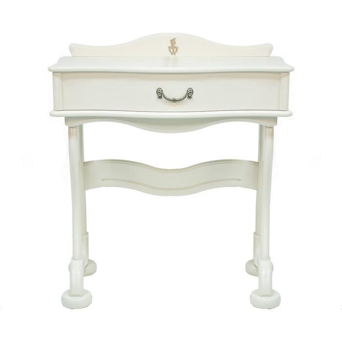 Стол туалетный Мебелик Джульетта молочный дуб