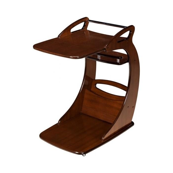 Подкатной столик Мебелик Фаворит орех