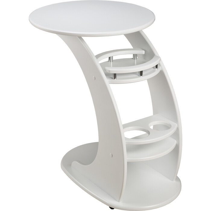 Придиванный столик Мебелик Люкс молочный дуб