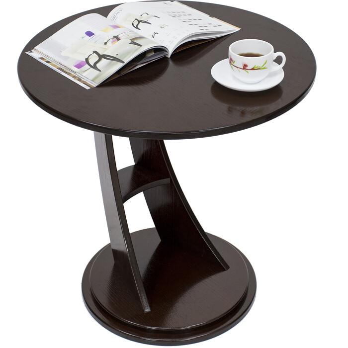 Приставной столик Мебелик Акцент орех