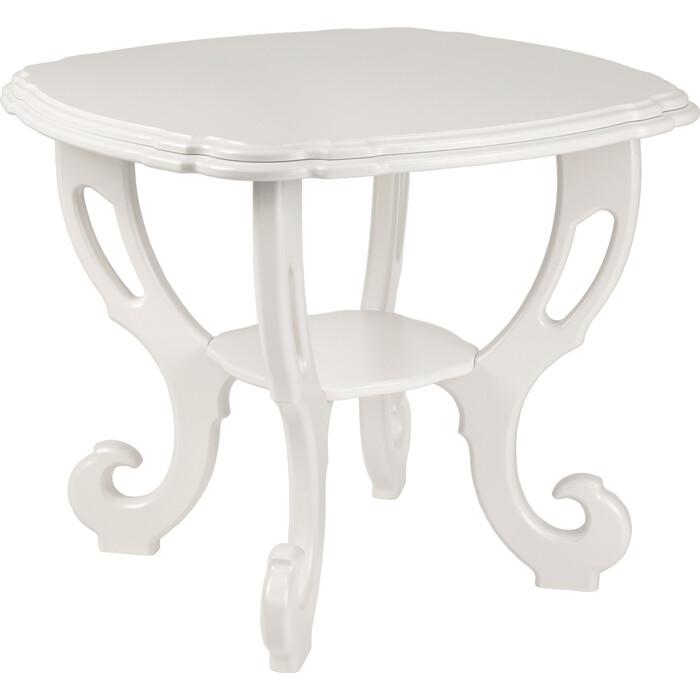 Стол журнальный Мебелик Кофейный молочный дуб
