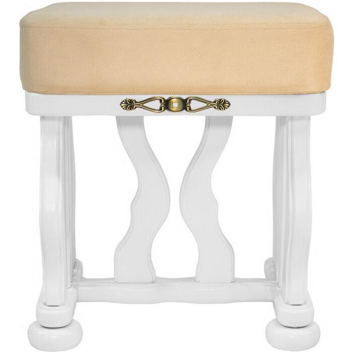 Банкетка Мебелик Джульетта молочный дуб, ткань Verona Vanilla