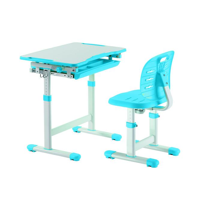 Комплект парта + стул трансформеры FunDesk Piccolino III blue