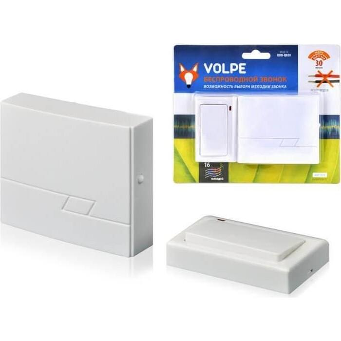 Звонок Volpe беспроводной (11013) UDB-Q020 W-R1T1-16S-30M-WH