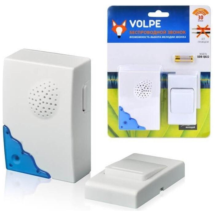 Звонок Volpe беспроводной (11015) UDB-Q022 W-R1T1-16S-30M-WH