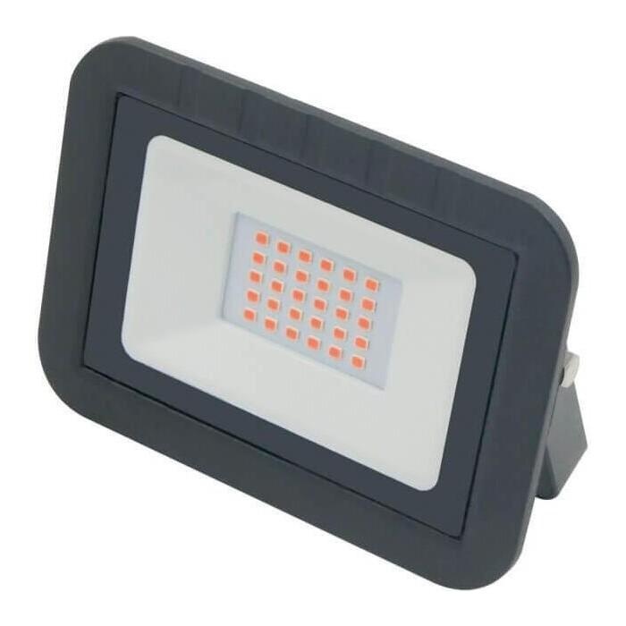 Прожектор Volpe светодиодный (UL-00002560) 30W ULF-Q511 30W/Red IP65 220-240B Black светильник volpe уличный светодиодный консольный ul 00006084 ulv q610 30w 6500к ip65 black