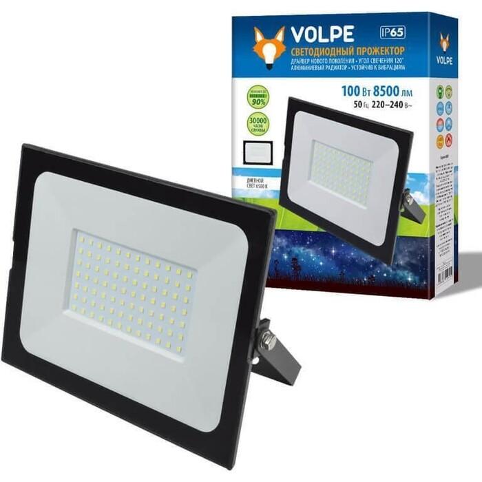 Прожектор Volpe светодиодный (UL-00004344) ULF-Q513 100W/6500K IP65 220-240B Black
