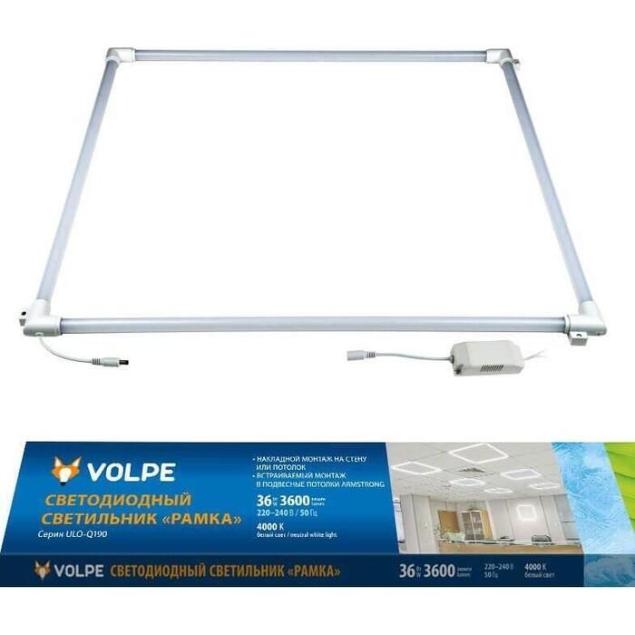 Светильник Volpe Встраиваемый светодиодный (UL-00004086) ULO-Q190 6060-36W/4000K White