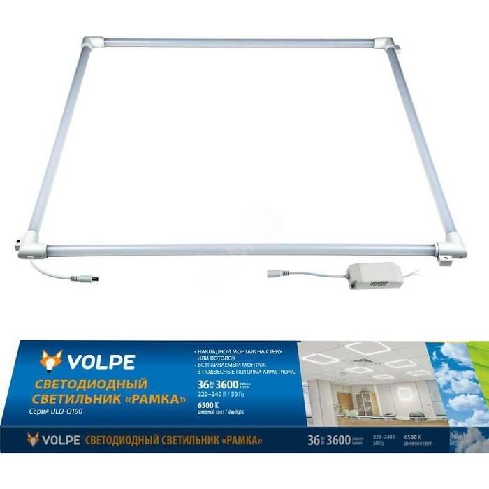Светильник Volpe Встраиваемый светодиодный (UL-00004087) ULO-Q190 6060-36W/6500K White