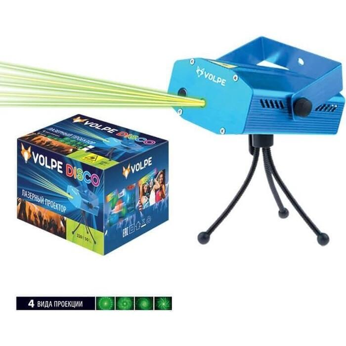 Светильник Volpe Лазерный светильник-проектор (UL-00001184) UDL-Q350 4P/G BLUE