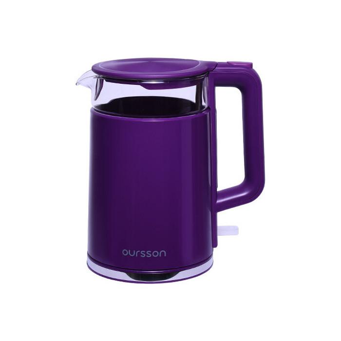 Чайник электрический Oursson EK1732W/SP
