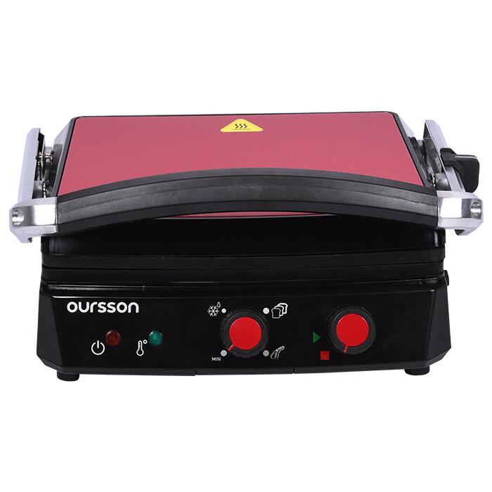 Гриль электрический Oursson EG2010S/RD