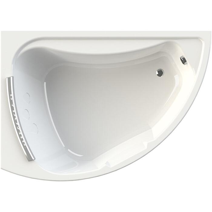 Акриловая ванна Radomir Альбена 168х120 левая, с каркасом, подголовником, фронтальной панелью, сливом-переливом (1-01-2-1-1-015К)
