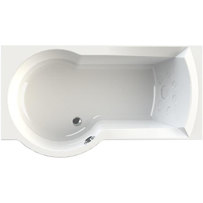 Акриловая ванна Radomir Валенсия 170х95 левая, с каркасом, фронтальной панелью, сливом-переливом (1-01-2-1-9-021К)